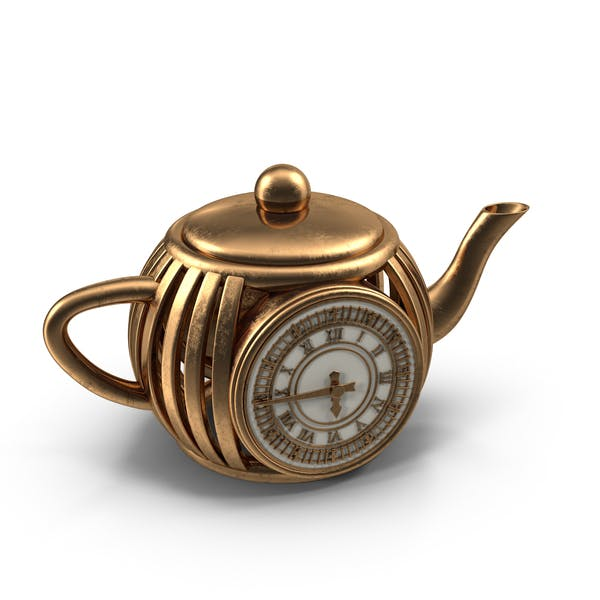 Cover Image for Teapot Clock
