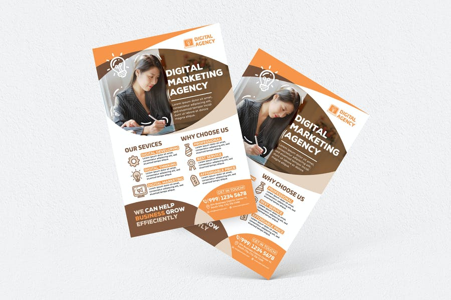 Digital Marketing Agency Flyer