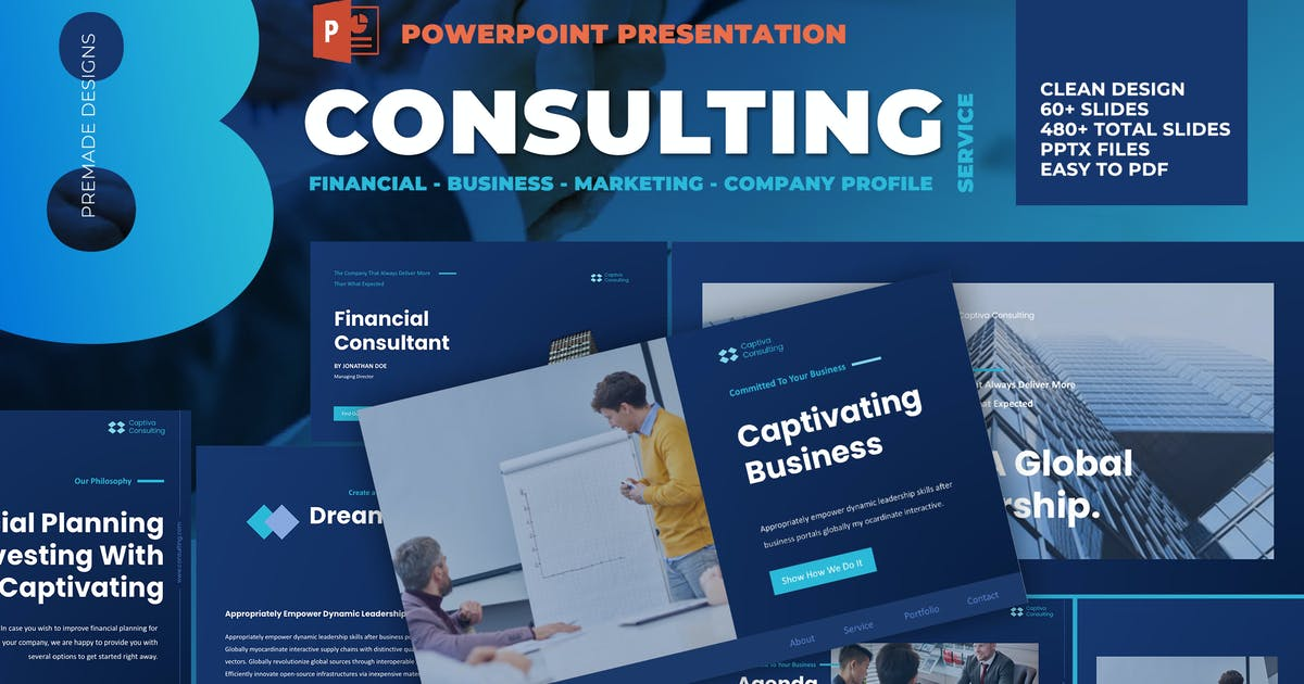 Download Business Consulting Powerpoint Template by afahmy