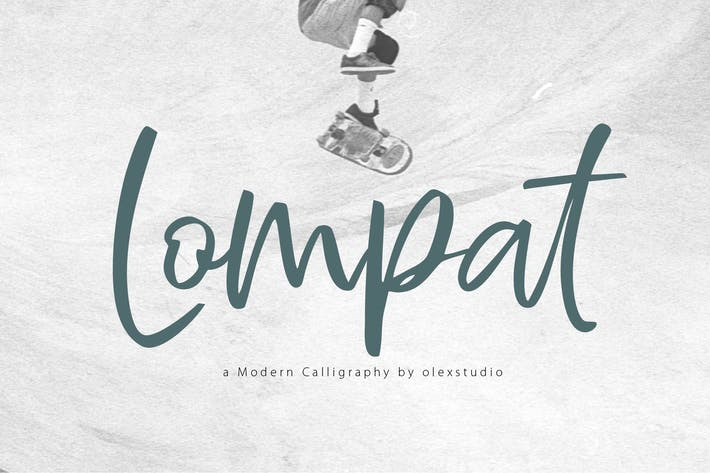 Thumbnail for LOMPAT - Handlettered