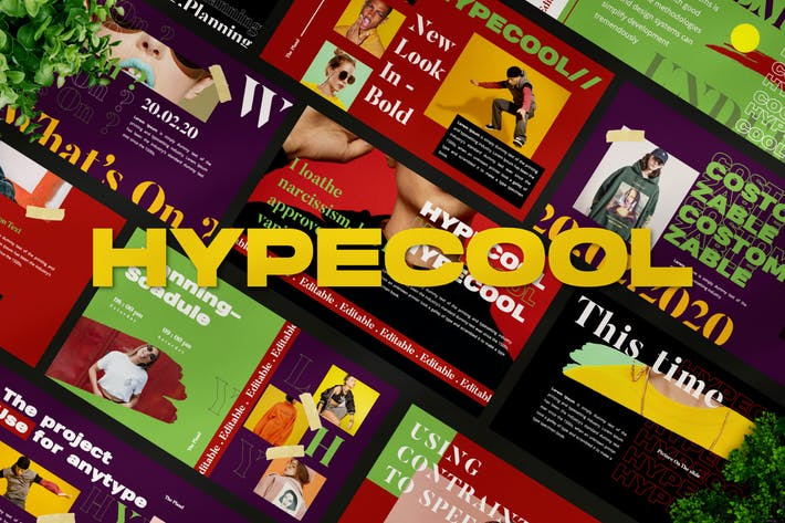 Шаблон Powerpoint Hypecool - LS