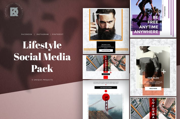 Thumbnail for Marble Lifestyle Social Media Kit