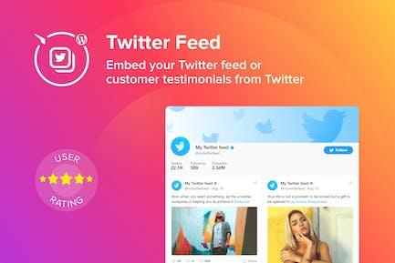WordPress Twitter Feed Plugin