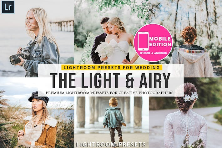 Thumbnail for Light & Airy Lightroom Presets