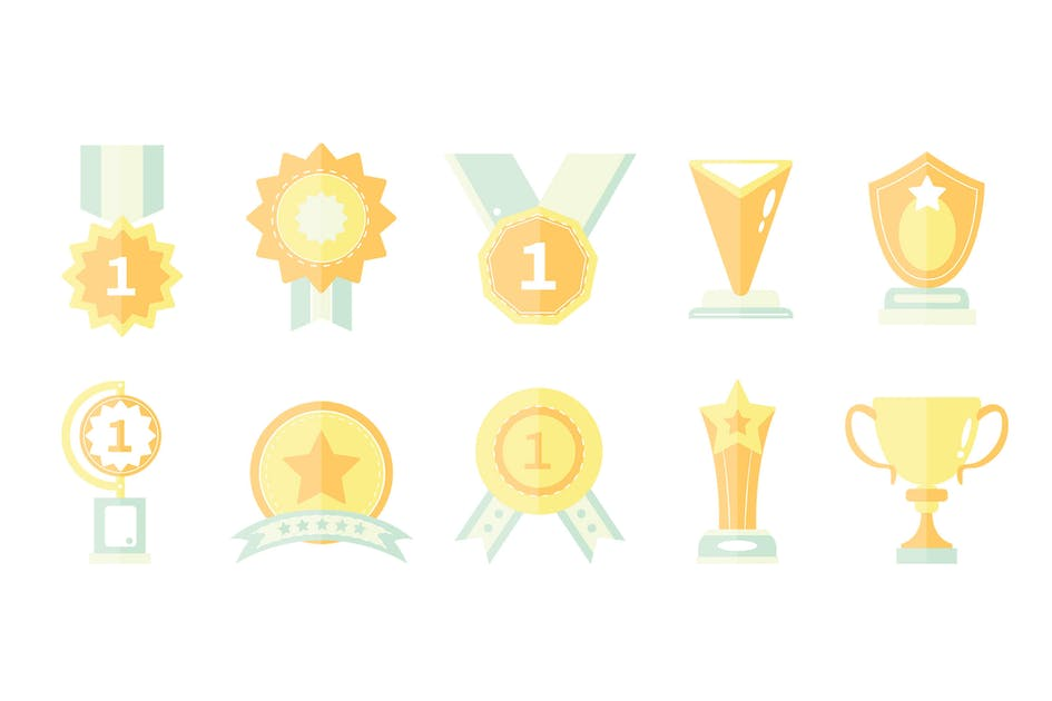 Download 10 Award Icons by LEVELII