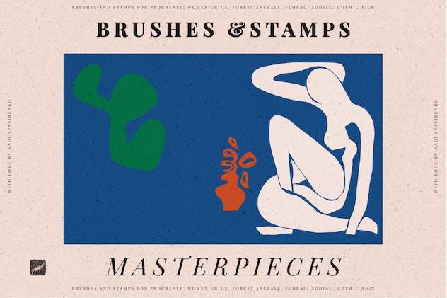 Masterpieces Stamp