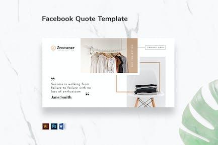 Boutique Facebook Quote