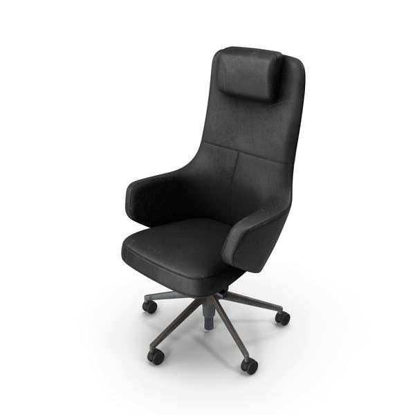 Office Chair Damaged Black