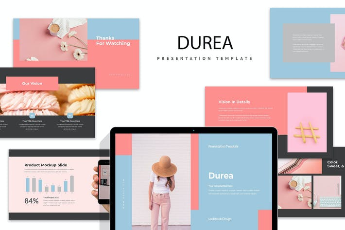 Thumbnail for Durea : Pastel Colors Powerpoint