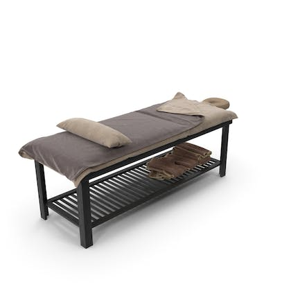 Static Wooden Beauty Bed