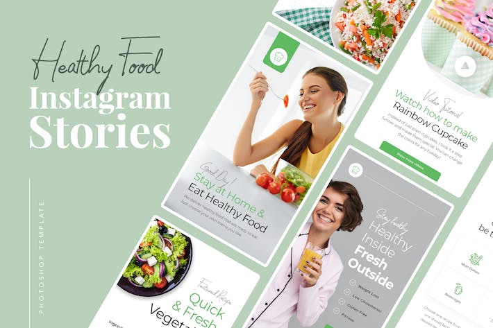 Thumbnail for Healthy Food Instagram Stories