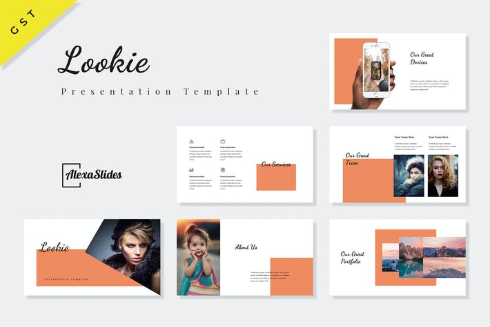 Thumbnail for Lookie - Fashion Google Slides Template