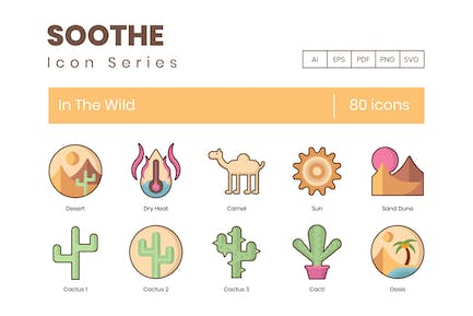 80 In der Wildnis Icons - Soothe Serie
