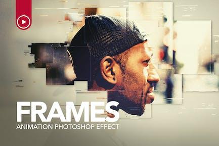 Frames Animation Photoshop Action