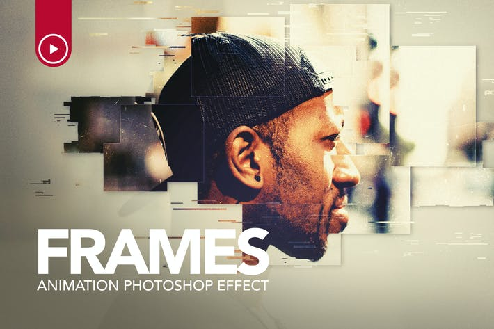 Thumbnail for Frames Animation Photoshop Action