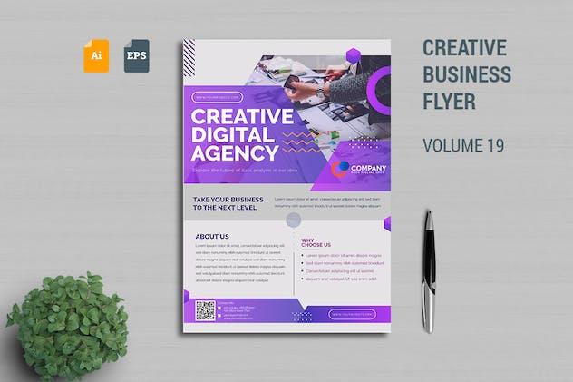 Creative Business Flyer Template Vol. 19