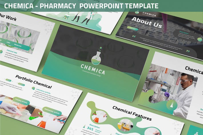 Thumbnail for Chemica  - Pharmacy Powerpoint Template
