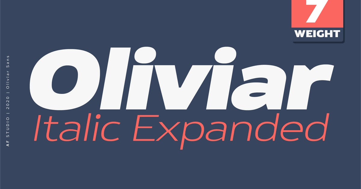 Download Oliviar Italic Expanded by adamfathony