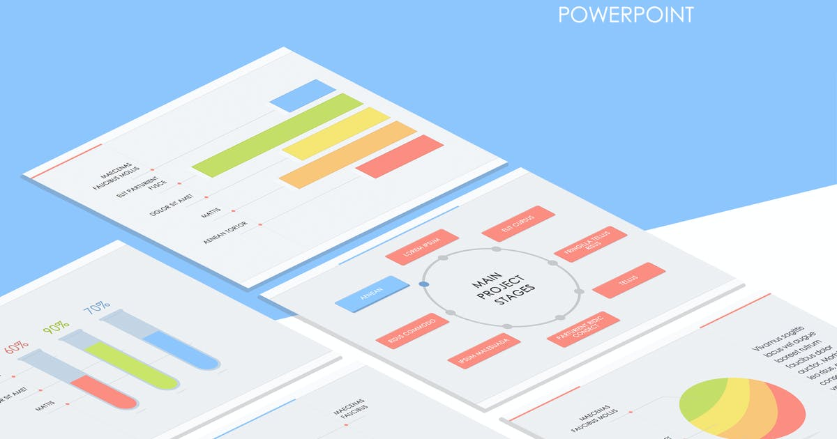 Download Breeze Colors PowerPoint Template by Jumsoft