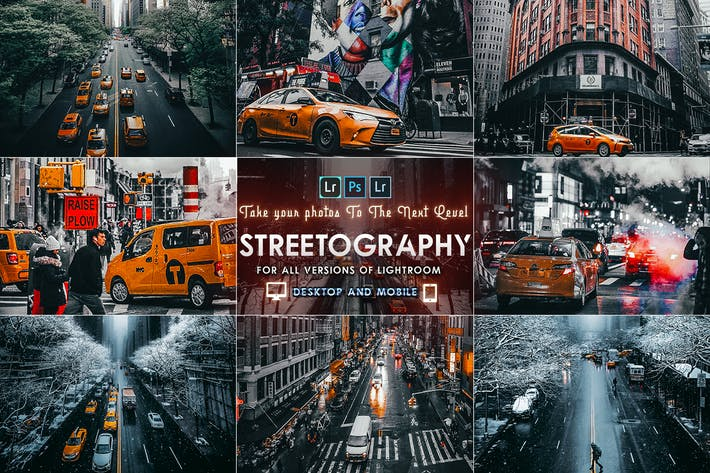 Thumbnail for Streetography - Cinematic Lightroom Presets