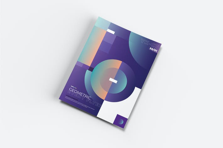 Thumbnail for AWR Creative Geometric dépliant