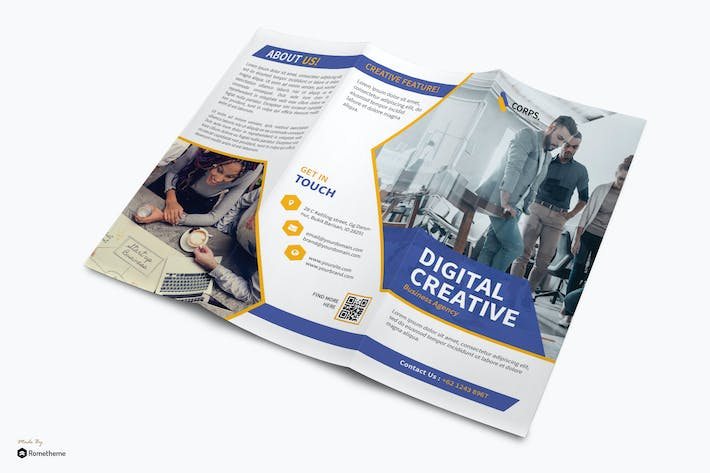 Thumbnail for Corporate Business vol.03 - Trifold YR