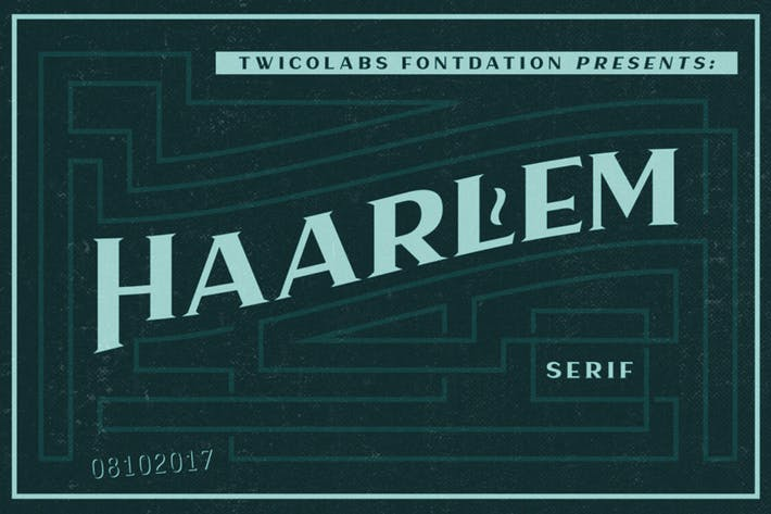 Thumbnail for Haarlem Serif