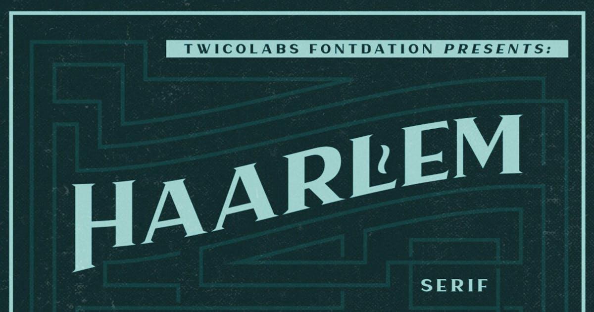 Download Haarlem Serif by twicolabs