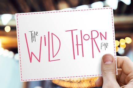 Wild Thorn Font