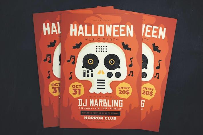 Thumbnail for Halloween Gigs Flyer