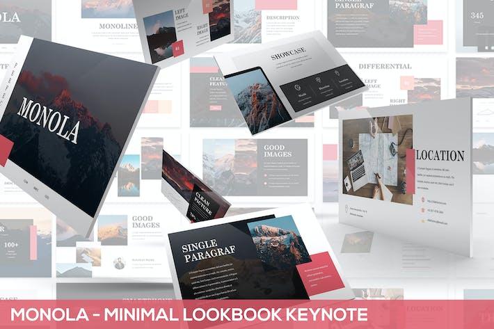 Thumbnail for Monola - Minimal Lookbook Keynote