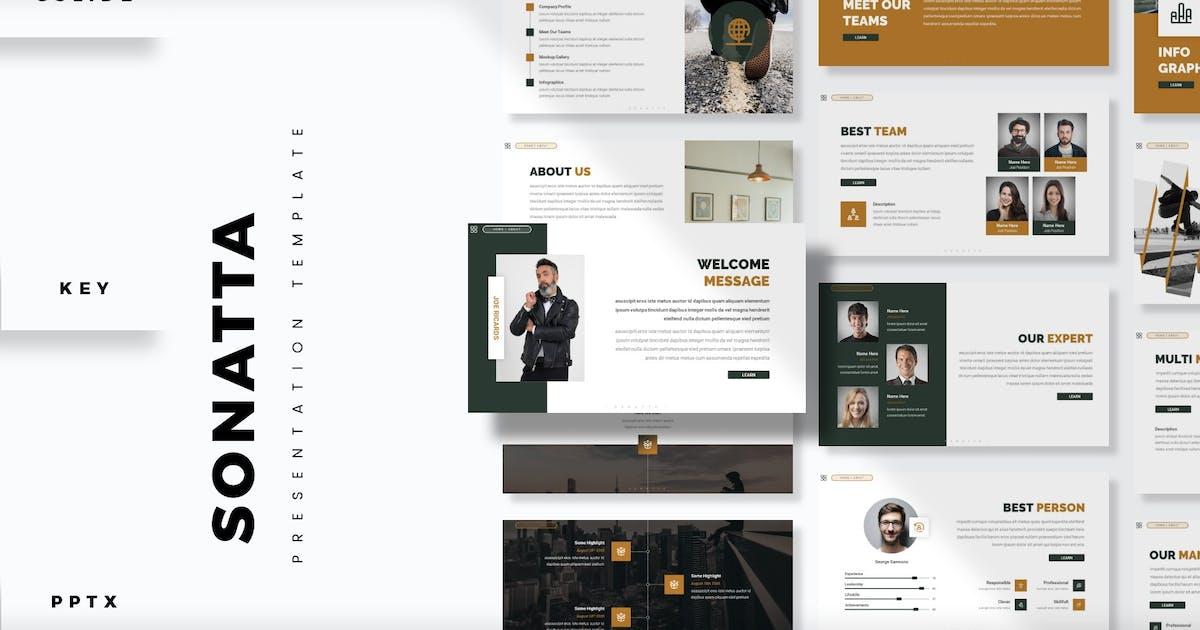 Download Sonatta - Presentation Template by aqrstudio