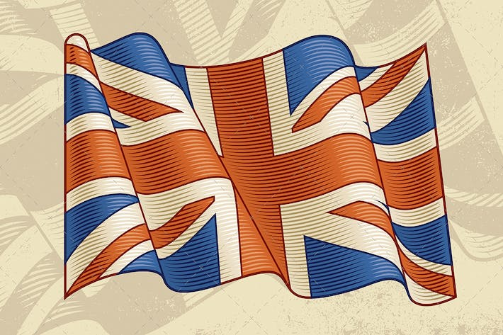Thumbnail for Vintage British Flag