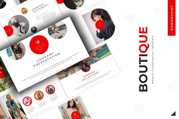 Boutique - Powerpoint Template