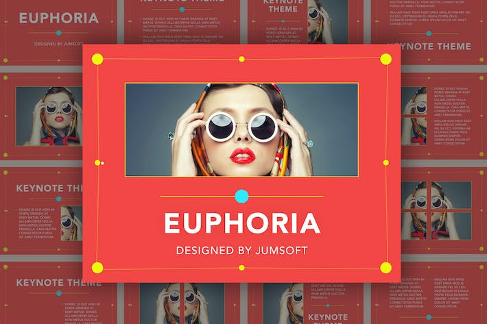 Thumbnail for Euphoria Keynote Template