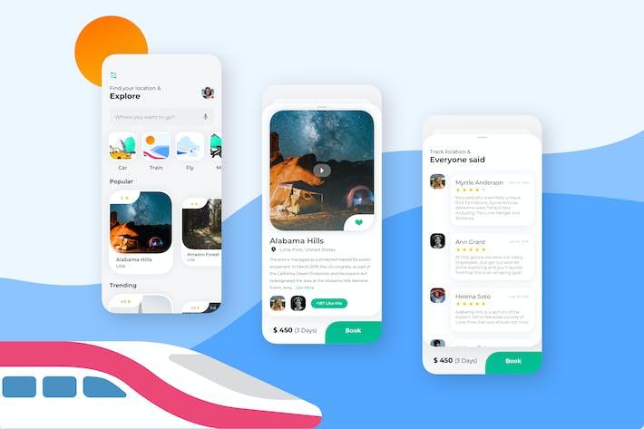 Home - Wallet Mobile UI - N