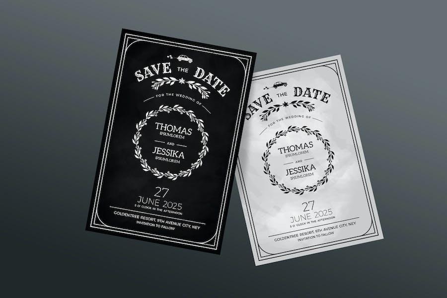 Wedding / save the date Invitation