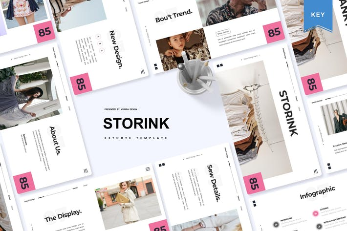 Thumbnail for Storink   Keynote Template