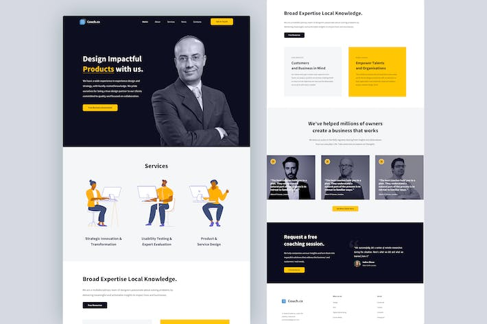 Thumbnail for CX Consultant Landing Page
