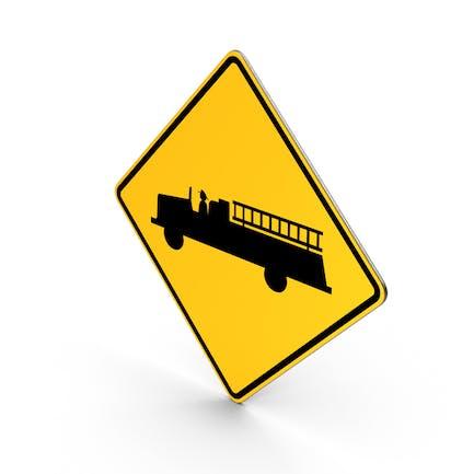 Feuerwehr-Schild