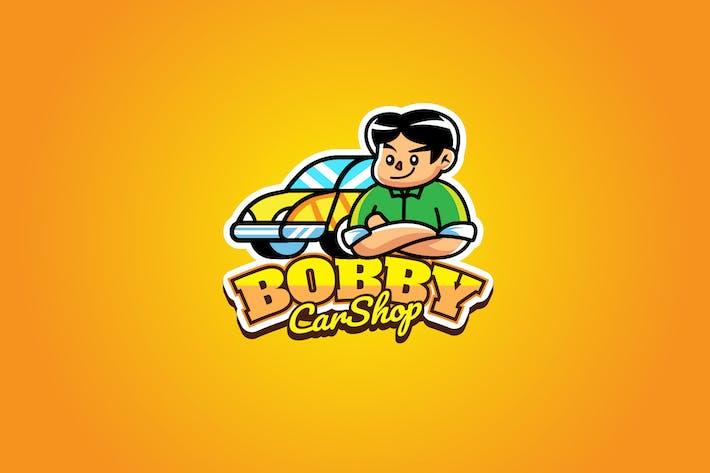 Thumbnail for Car Shop - Mascot Logo