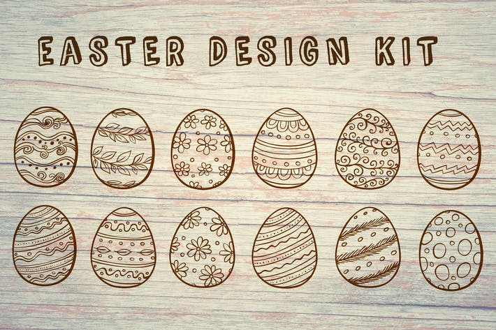 Cover Image For Decorative Easter Kit