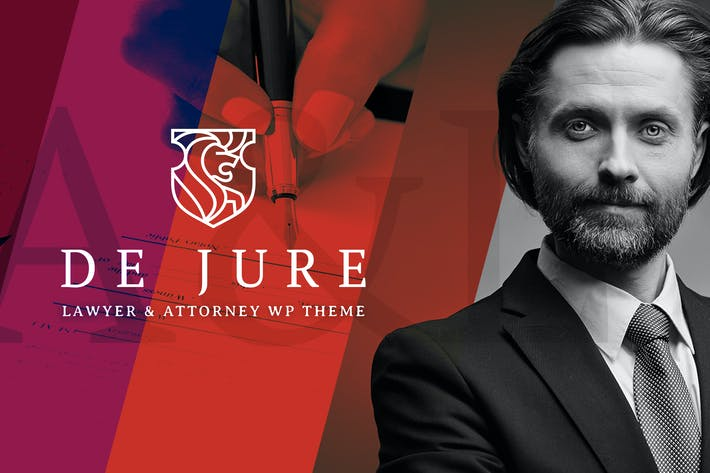 Thumbnail for De Jure - Attorney and Lawyer WP Theme