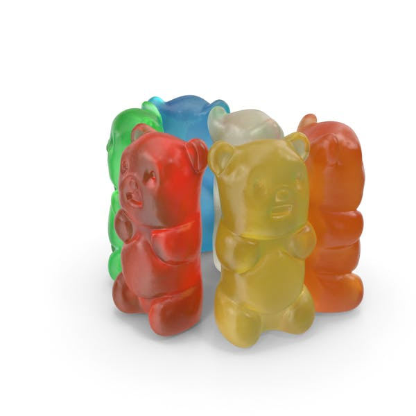 Small Pile Of Gummy Bears