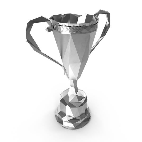 Thumbnail for Low Poly Silver Trophy