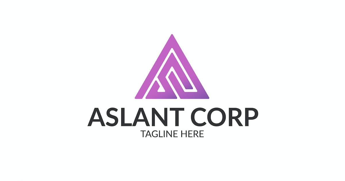 Download Aslant Corp - Logo Template by Rometheme
