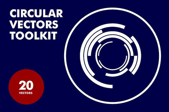 Cover Image For Circular Vectors Toolkit