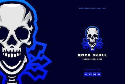 Rock Skull Logo Template