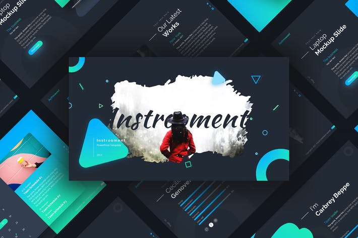 Thumbnail for Instrooment Presentation Template
