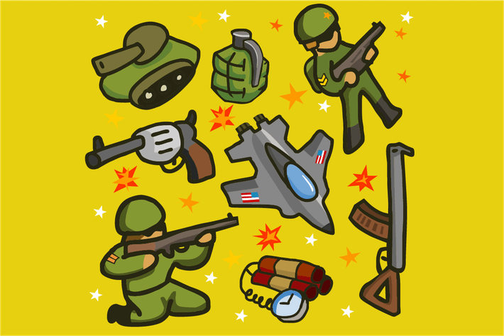 Thumbnail for Army set flat
